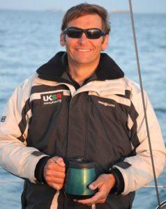 John Crosbie in sailing jacket